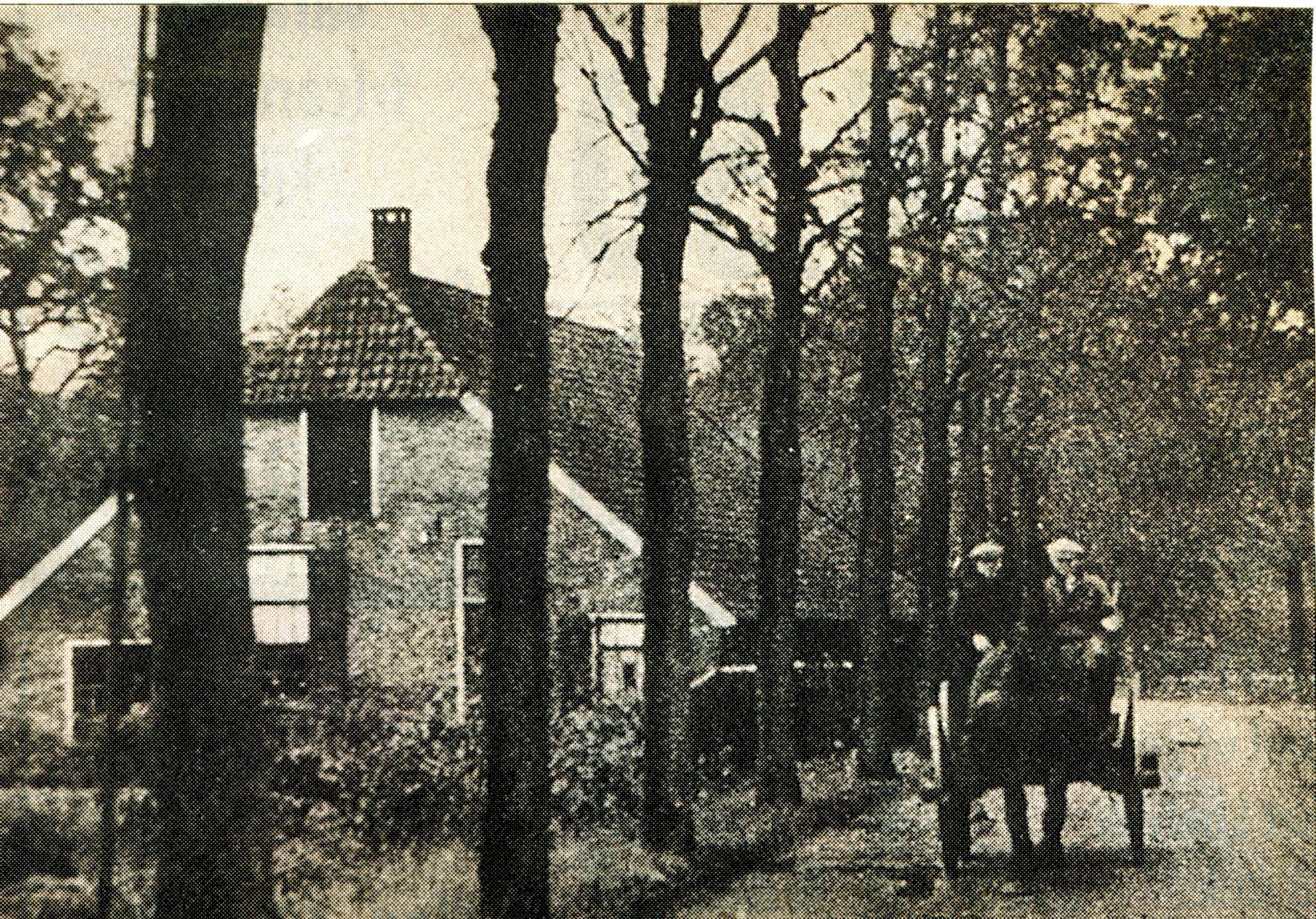 De geschiedenis van Delden in Beeld - Hengeloschestraat met het Bleekhuis