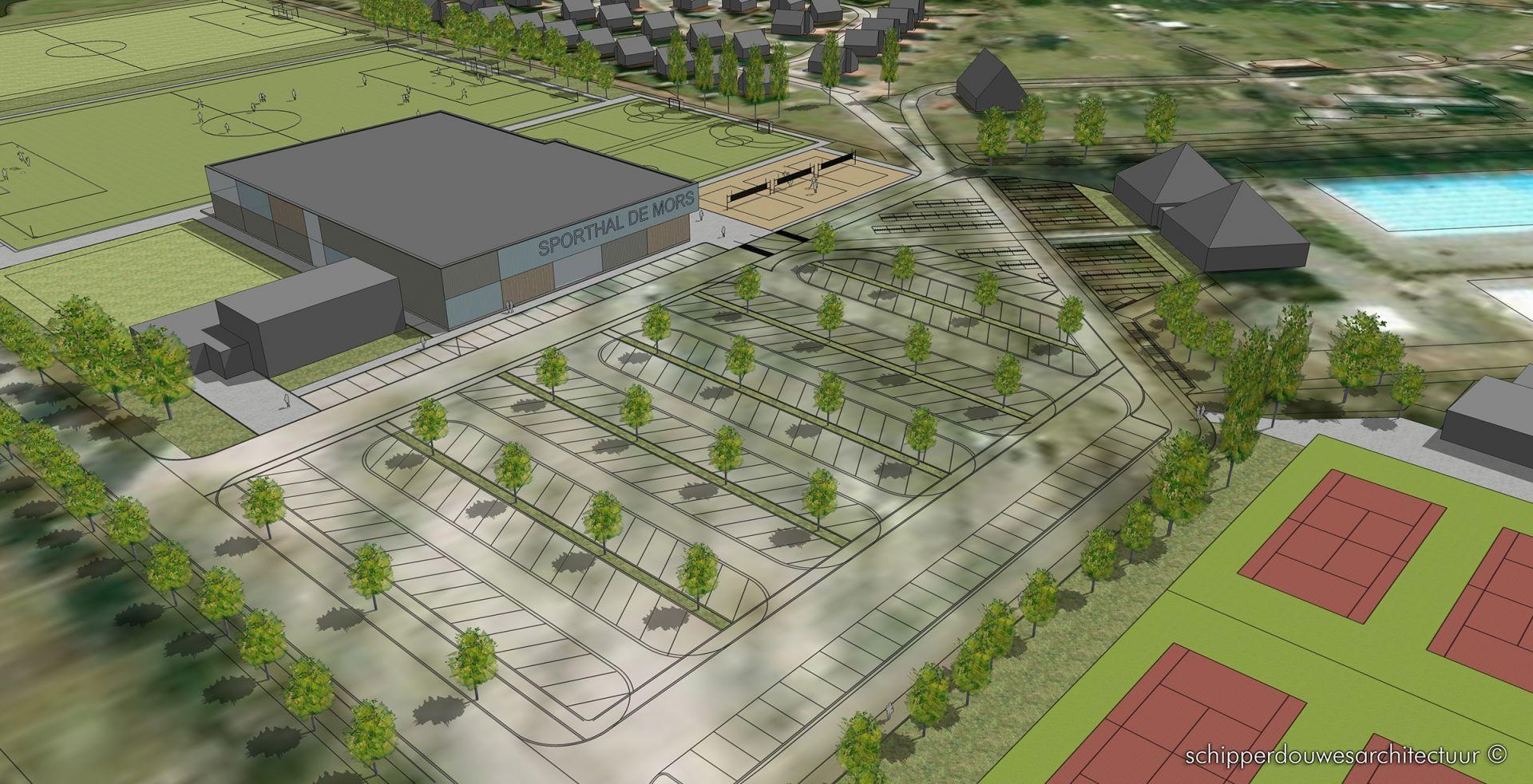 Plannen nieuwe sportpark de Mors krijgen steeds meer vorm