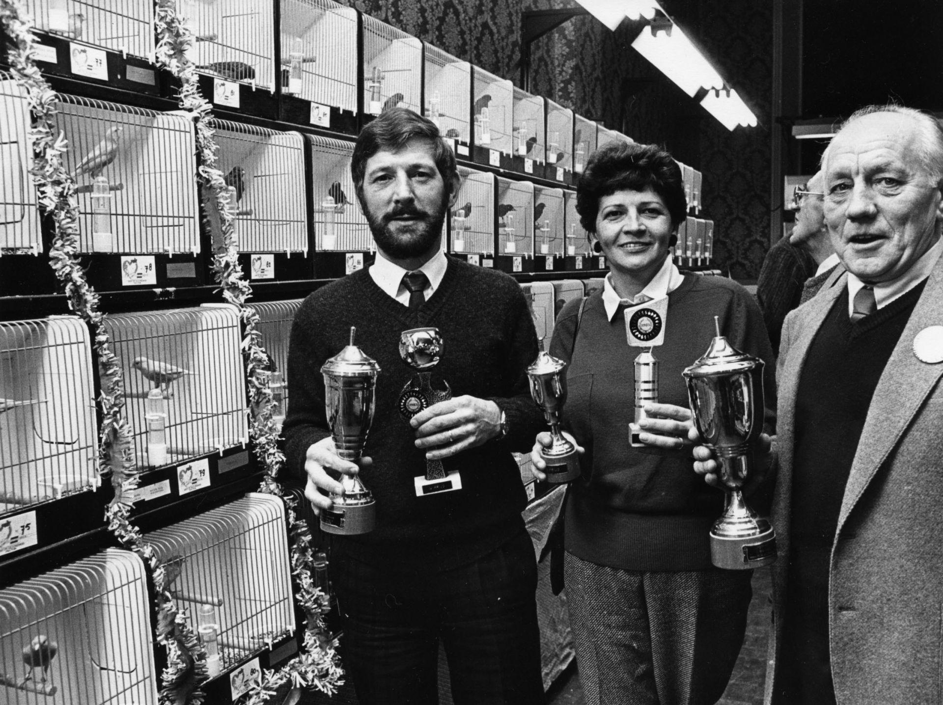 De geschiedenis van Delden in Beeld - Vogelshow in december 1985