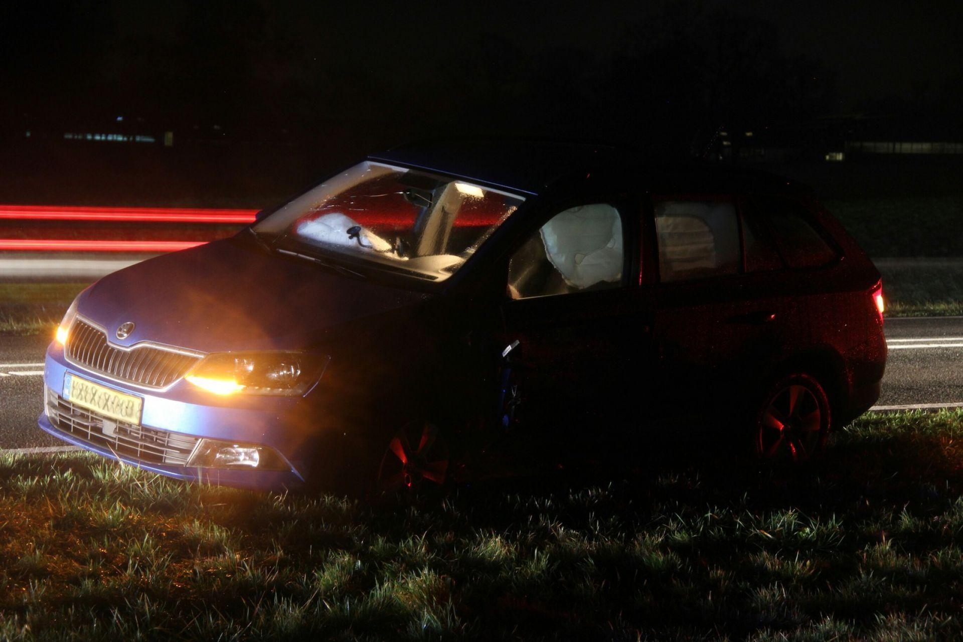 Auto's afgesleept na aanrijding tussen Delden en Goor