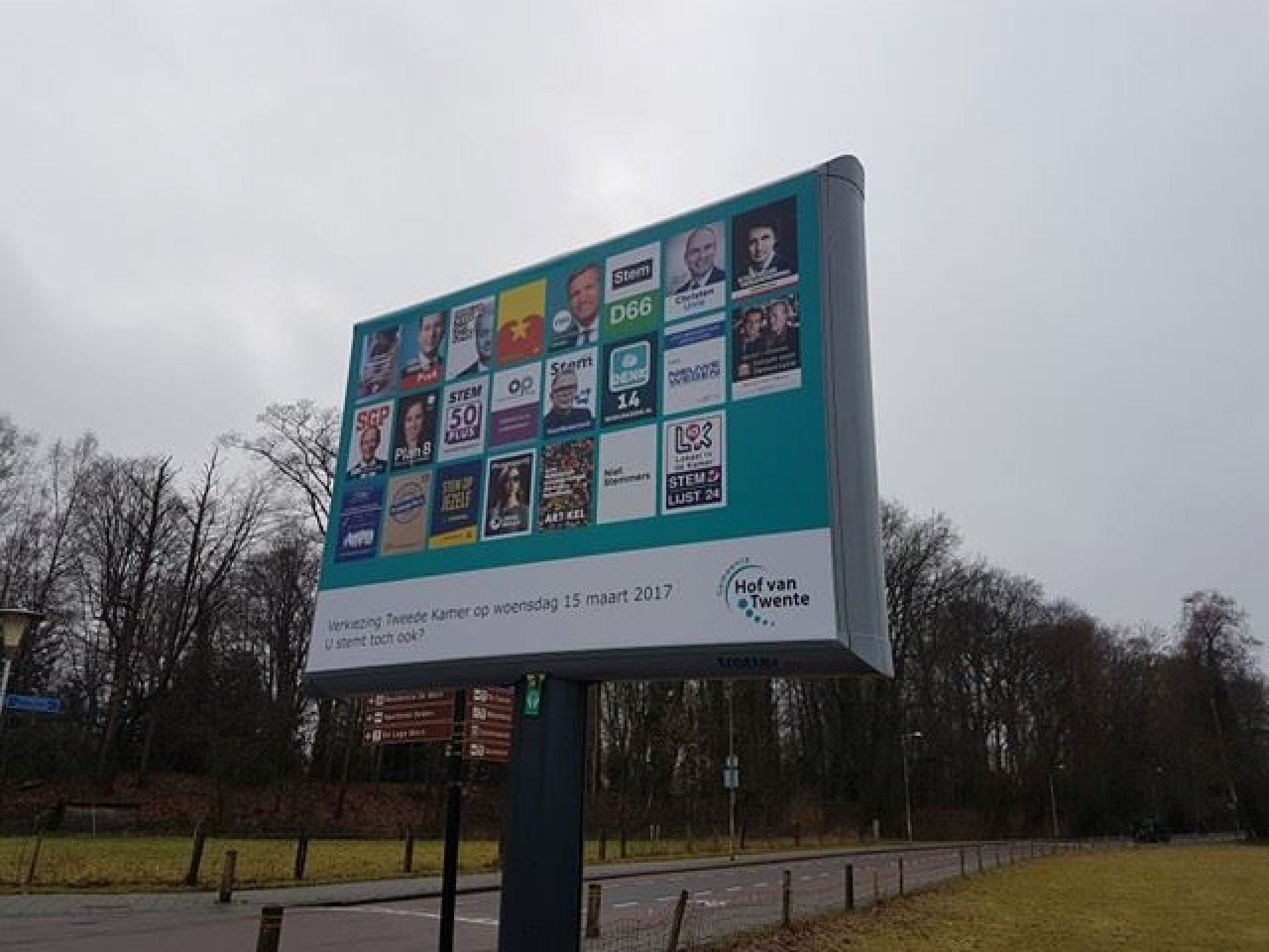 VVD opnieuw grootste in Hof van Twente