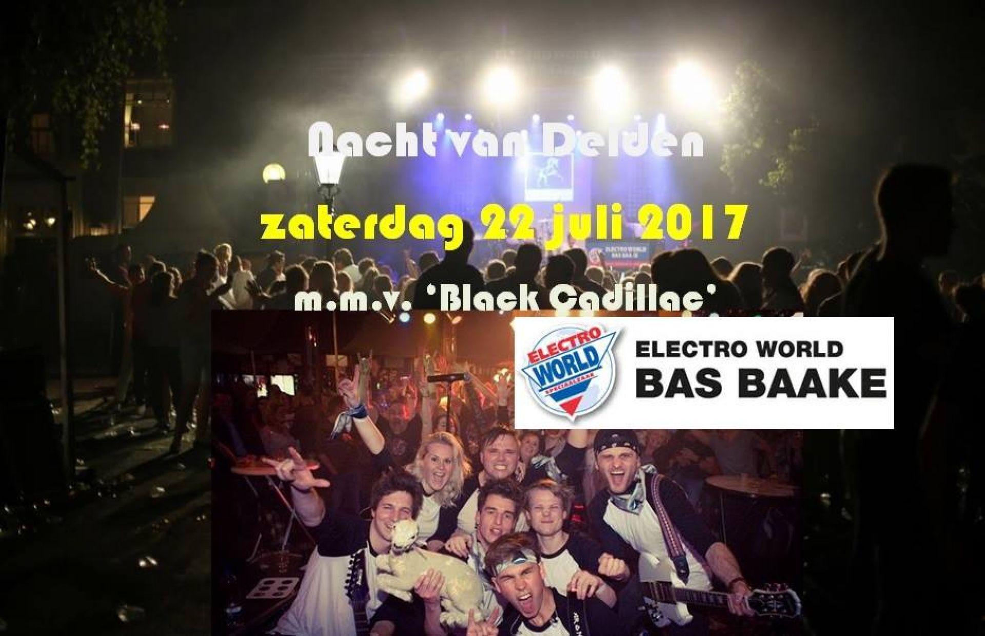 Band Black Cadillac hoofdact bij 16e Nacht van Delden