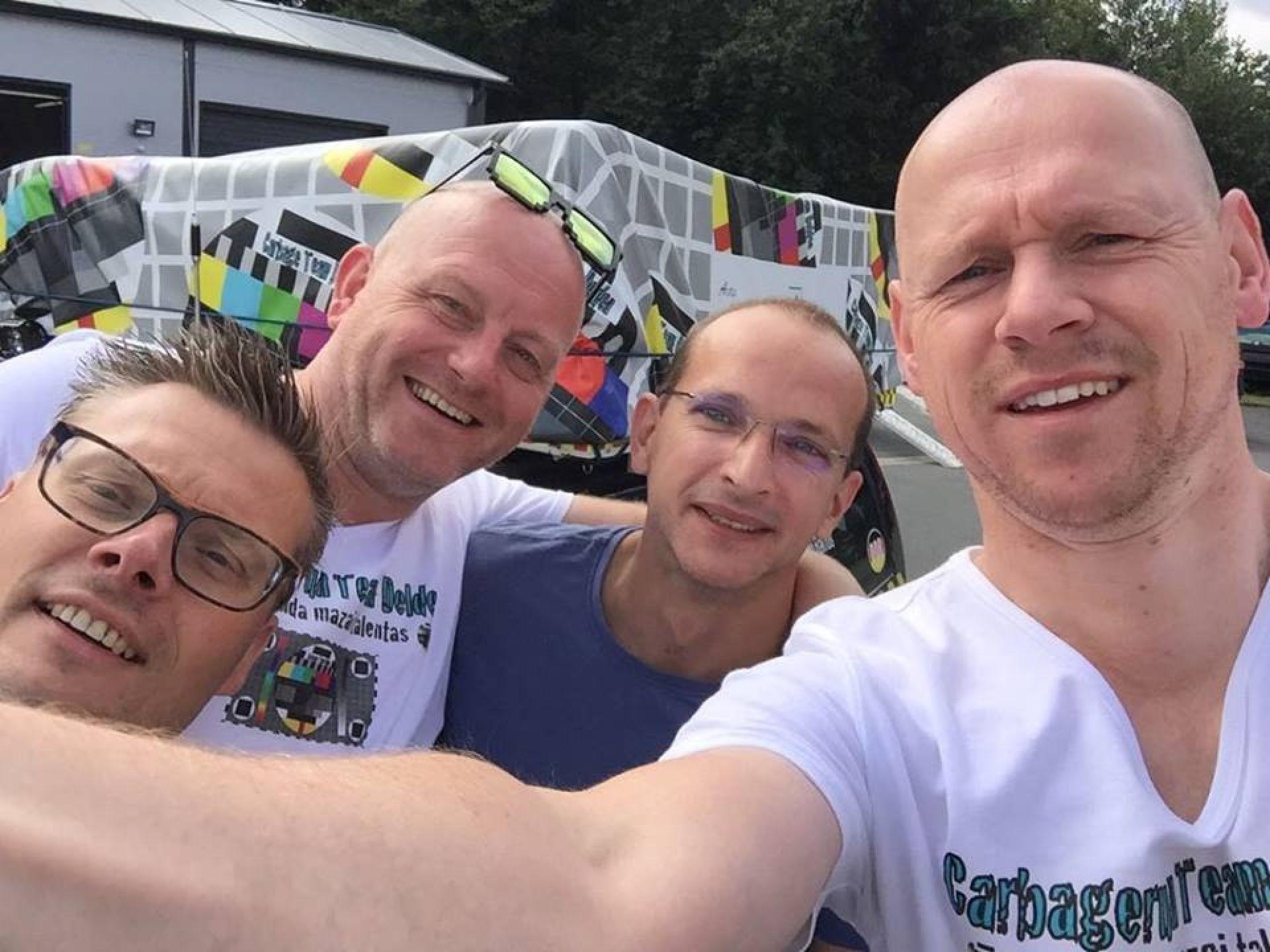 Deldense teams Carbagerun 2017 nog volop in de race