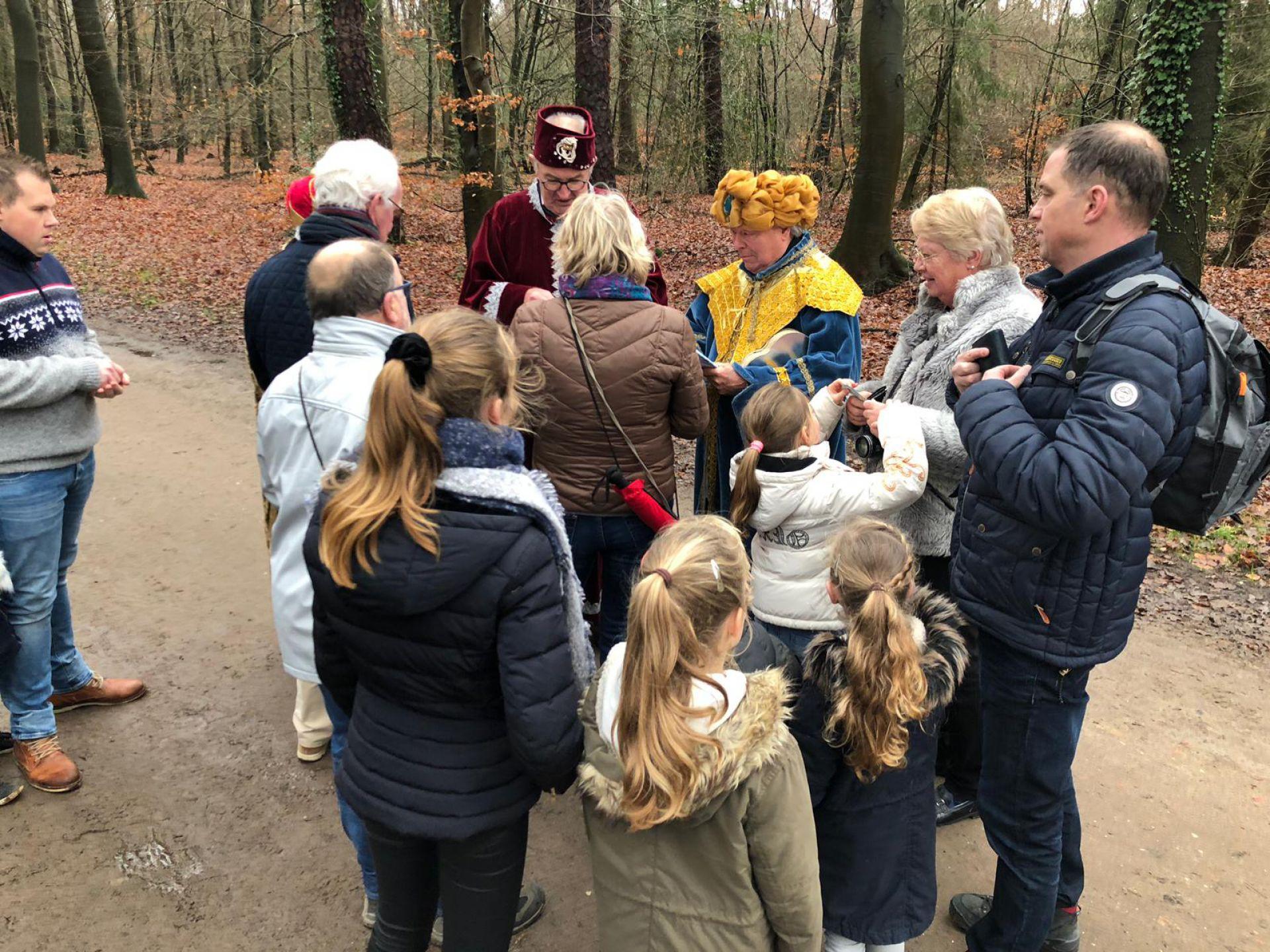 Opnieuw recordaantal deelnemers aan Drie Koningen Winterwandeling Delden