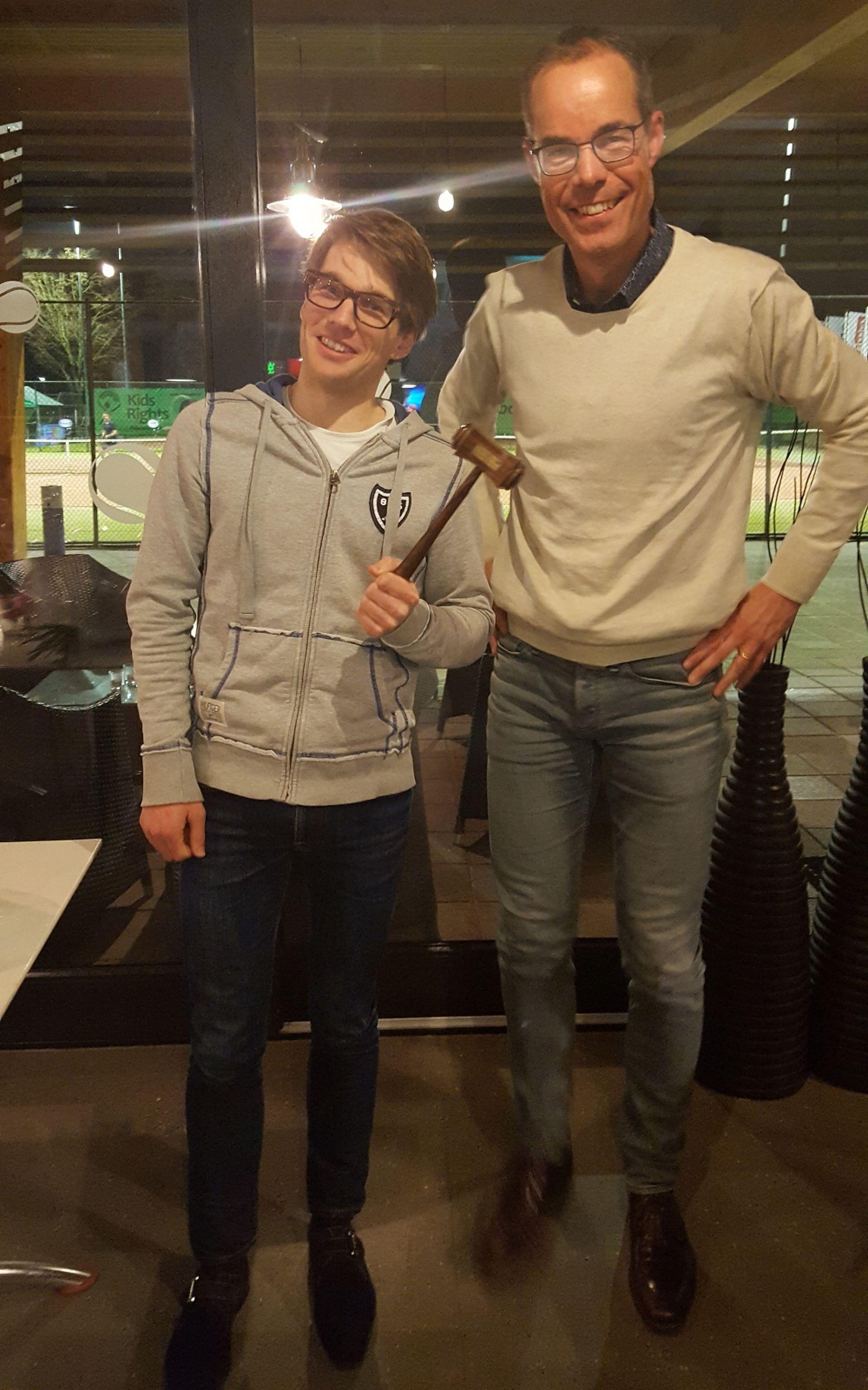 Léon olde Scholtenhuis nieuwe voorzitter Tennis Club Delden