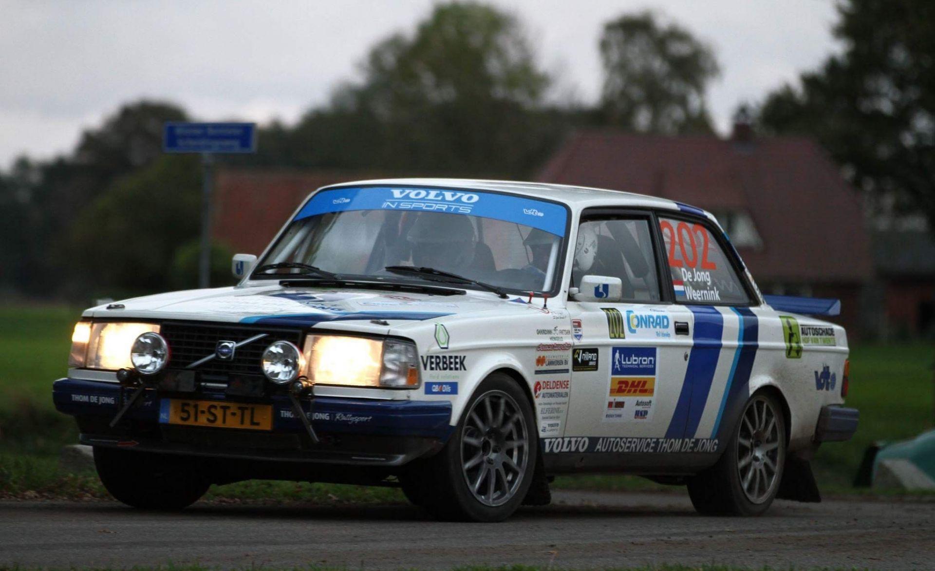 Rallyteam De Jong sluit seizoen af met knappe tweede plek