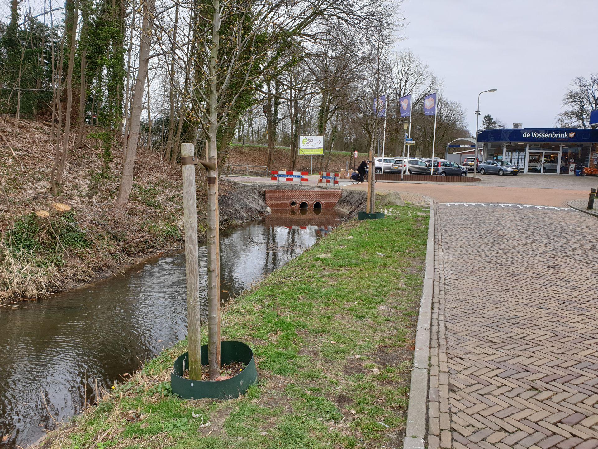 Werkzaamheden Spoorsloot Delden bijna afgerond