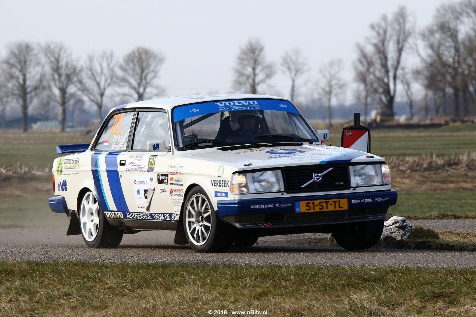 Rallyteam De Jong komt met knappe derde plek uit winterstop