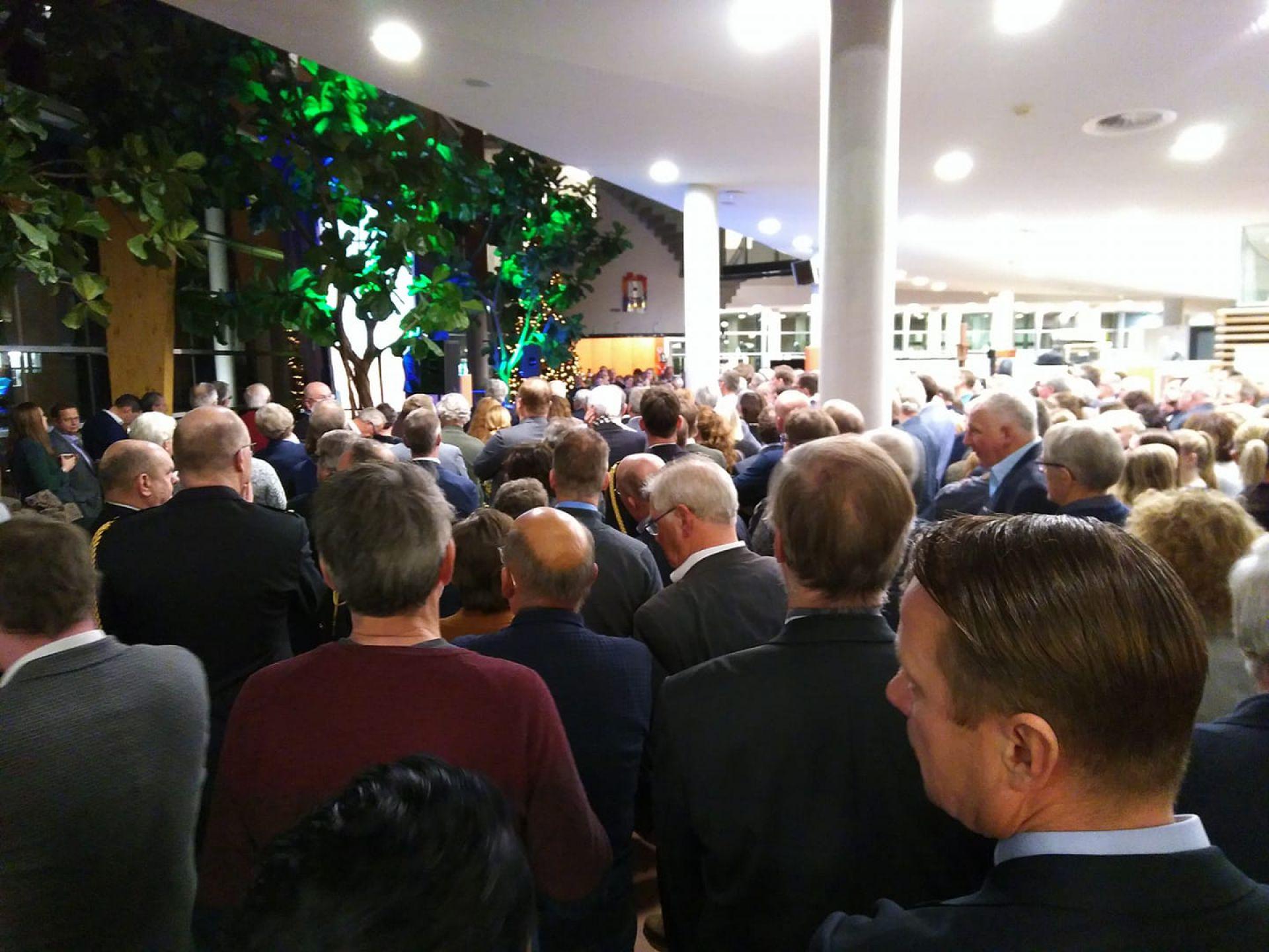 Deldense kampioenen gehuldigd tijdens drukbezochte nieuwjaarsreceptie gemeente