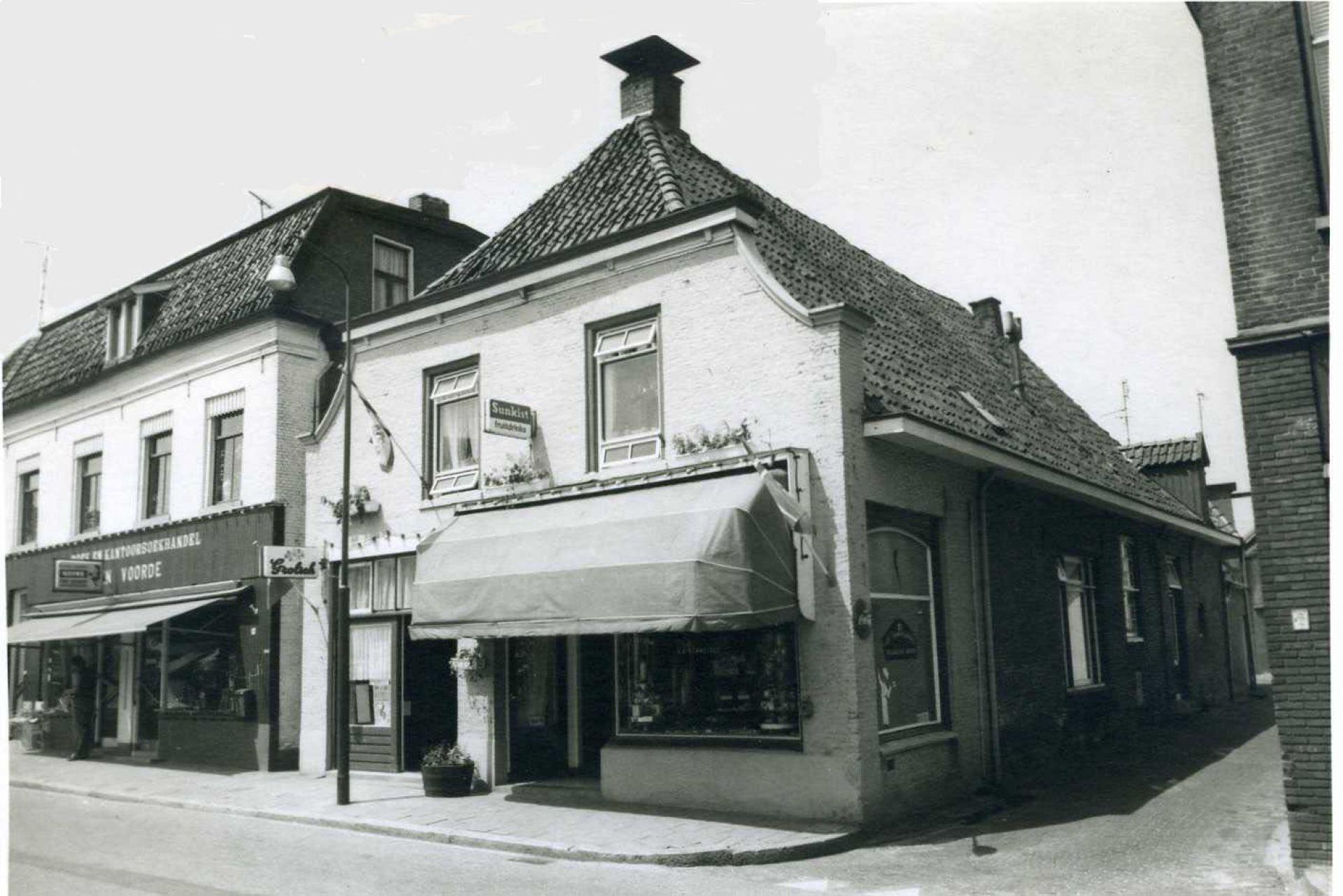 De geschiedenis van Delden in Beeld - Bakkerij en lunchroom Hemmelder