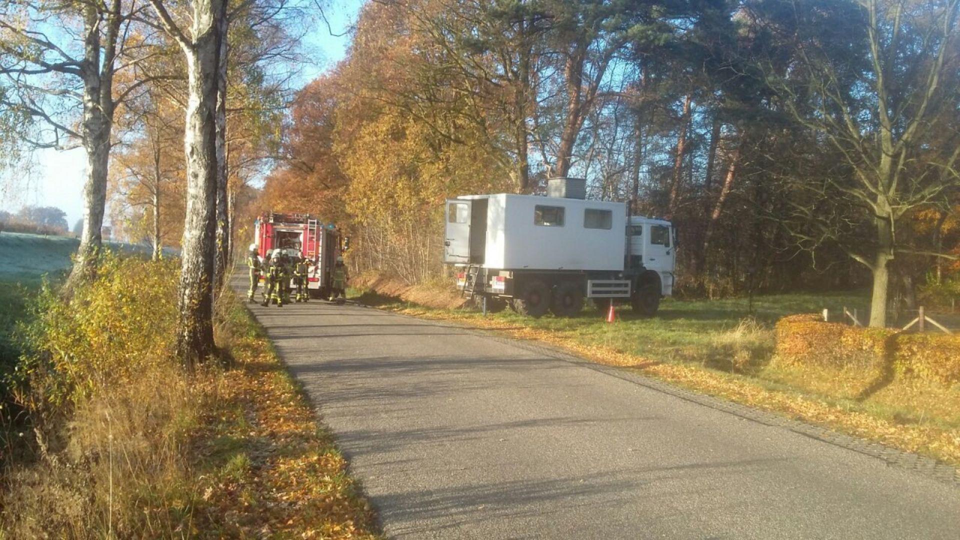 Afzetting Sluisstraat Delden na gaslek