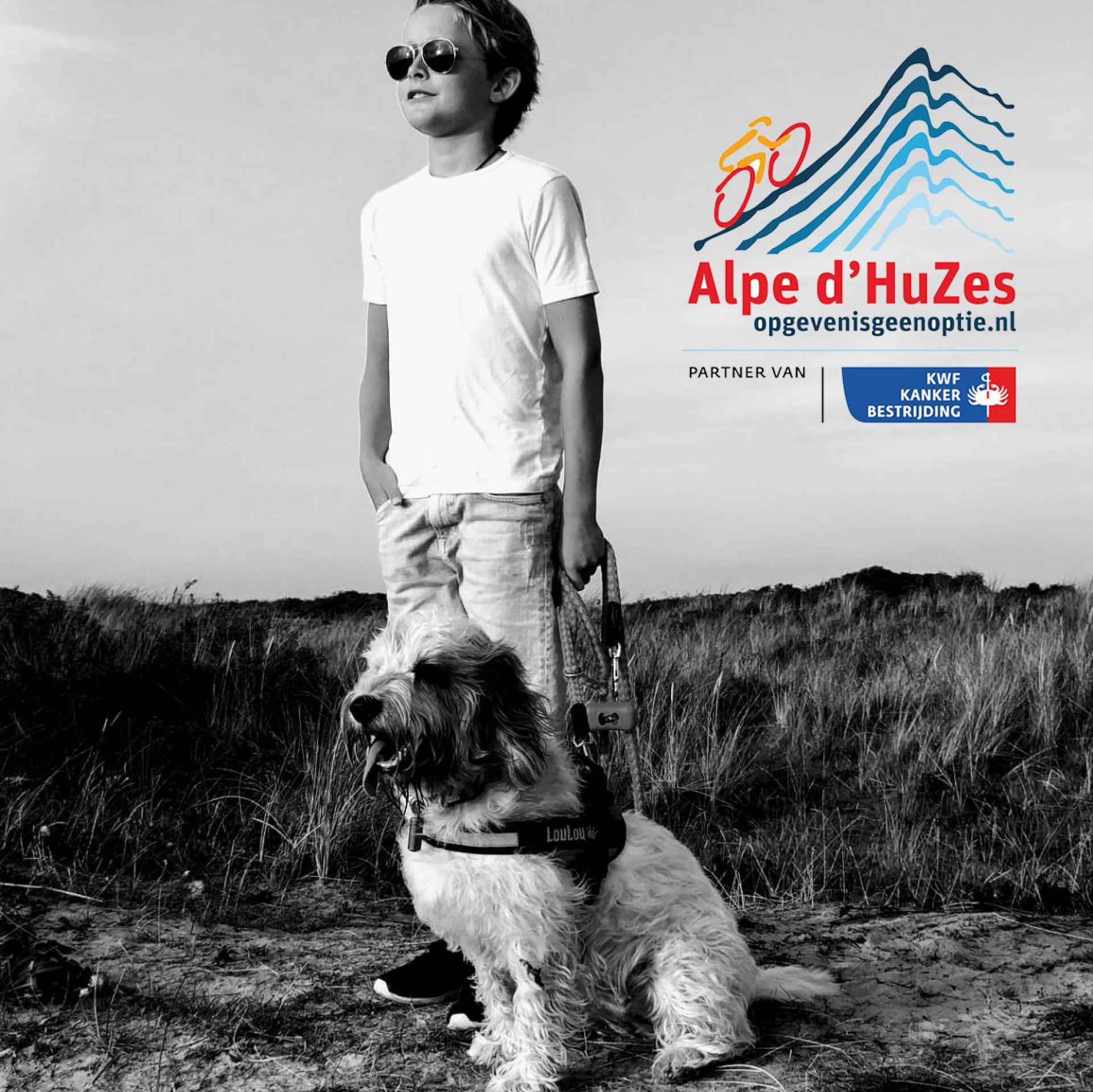 Menno Kort uit Delden op de pedalen voor de Alpe d'HuZes