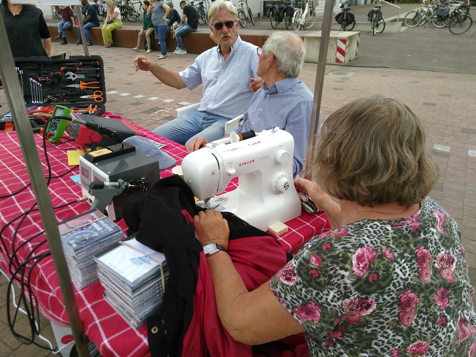 Zaterdag 13 juli Repair Café in Delden