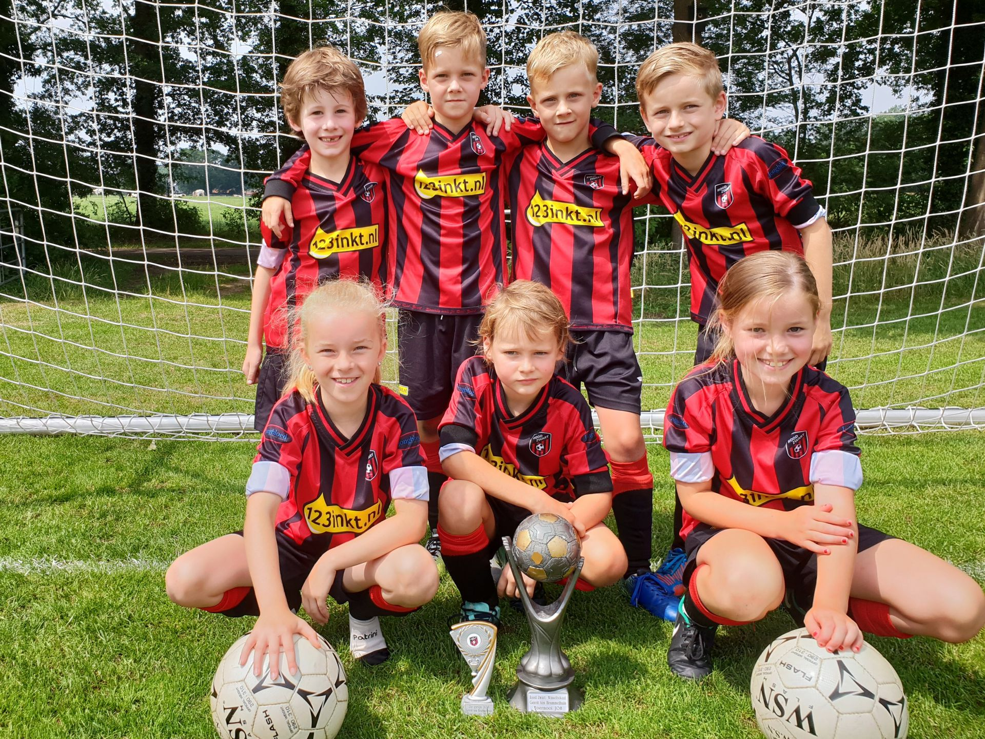 Goed verloop Gerrit ten Brummelhuis jeugd toernooi bij Rood Zwart