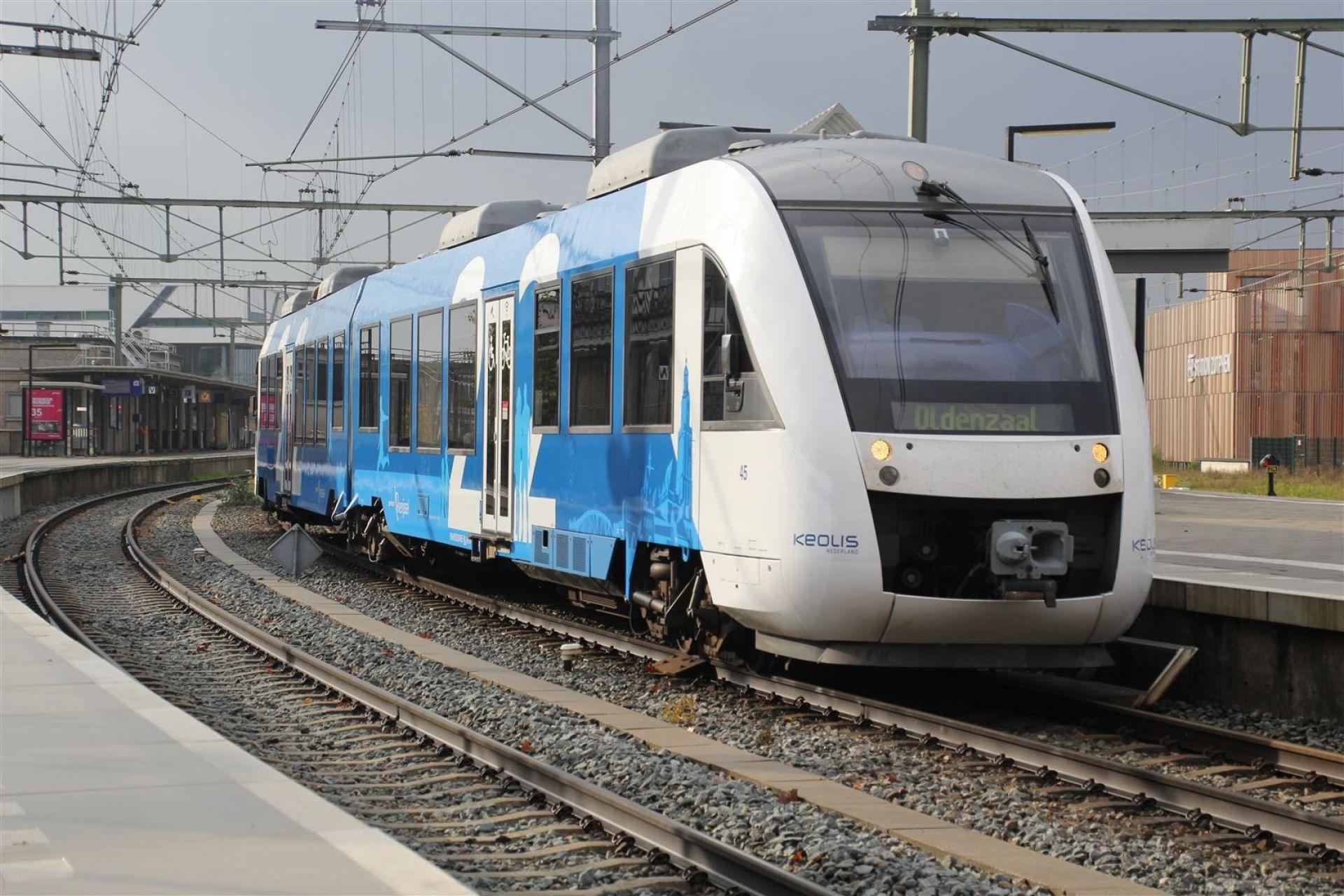 'Het is blauw en rijdt als 'n trein'
