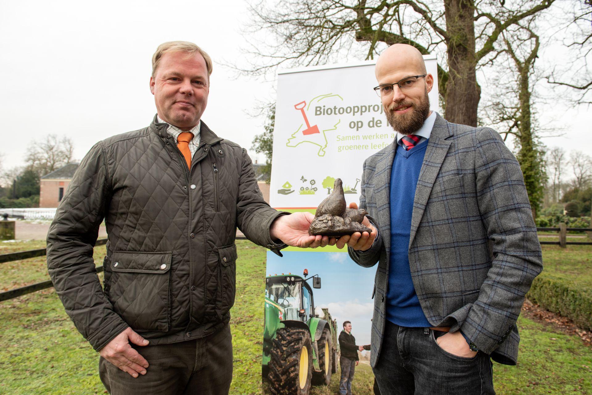 Landgoed Twickel start groot patrijzenproject