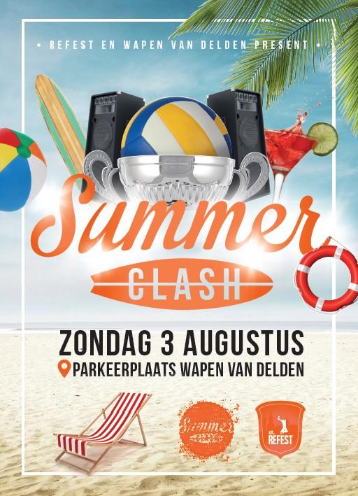 Beachsoccer- en beachvolleybal bij eerste SummerClash van Stichting Refest