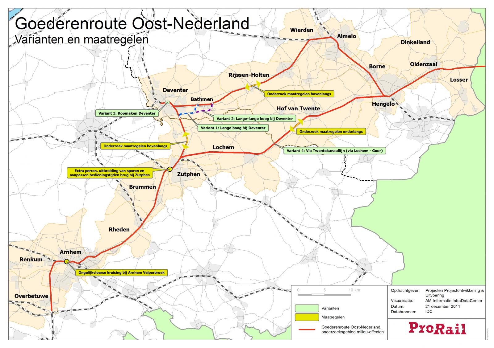 'Beslissing over goederentreinen door Delden half jaar uitgesteld'