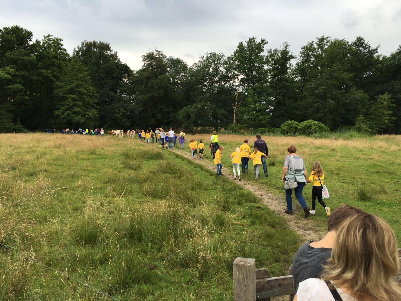 Basisscholieren maken zich op voor 33ste Deldense Wandel4daagse