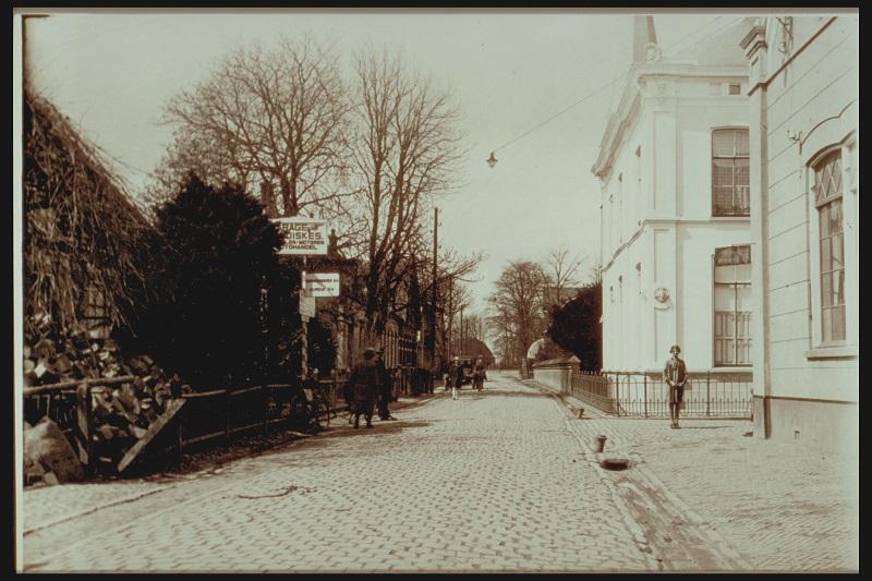 De geschiedenis van Delden in beeld - Langestraat omstreeks 1920