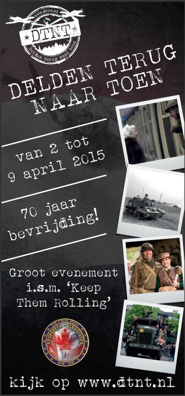 Deel 7: Verhalen op weg naar 'Delden Terug Naar Toen' – Van D-Day naar VE-Day