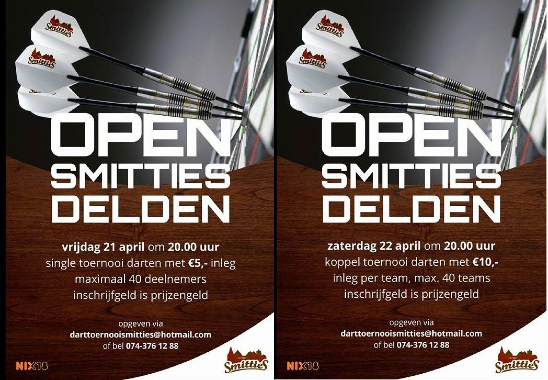 Darters in de startblokken voor tweede editie Delden Open