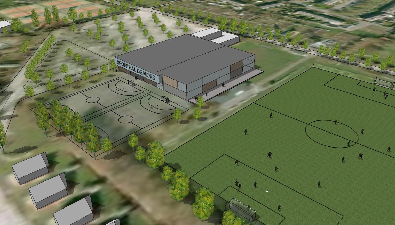 Stuurgroep blijft positief over plannen Sportpark De Mors na publicatie kadernota