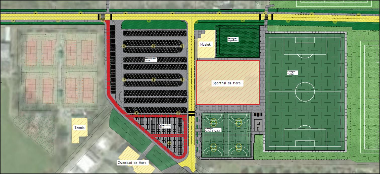 Update: Eerste presentatie plannen sportpark De Mors druk bezocht