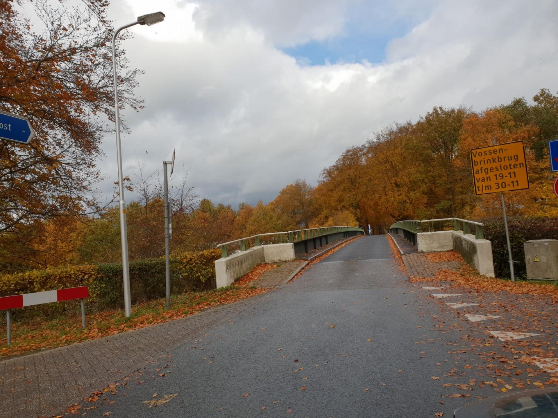 Groene Brug Delden gesloten voor onderhoud
