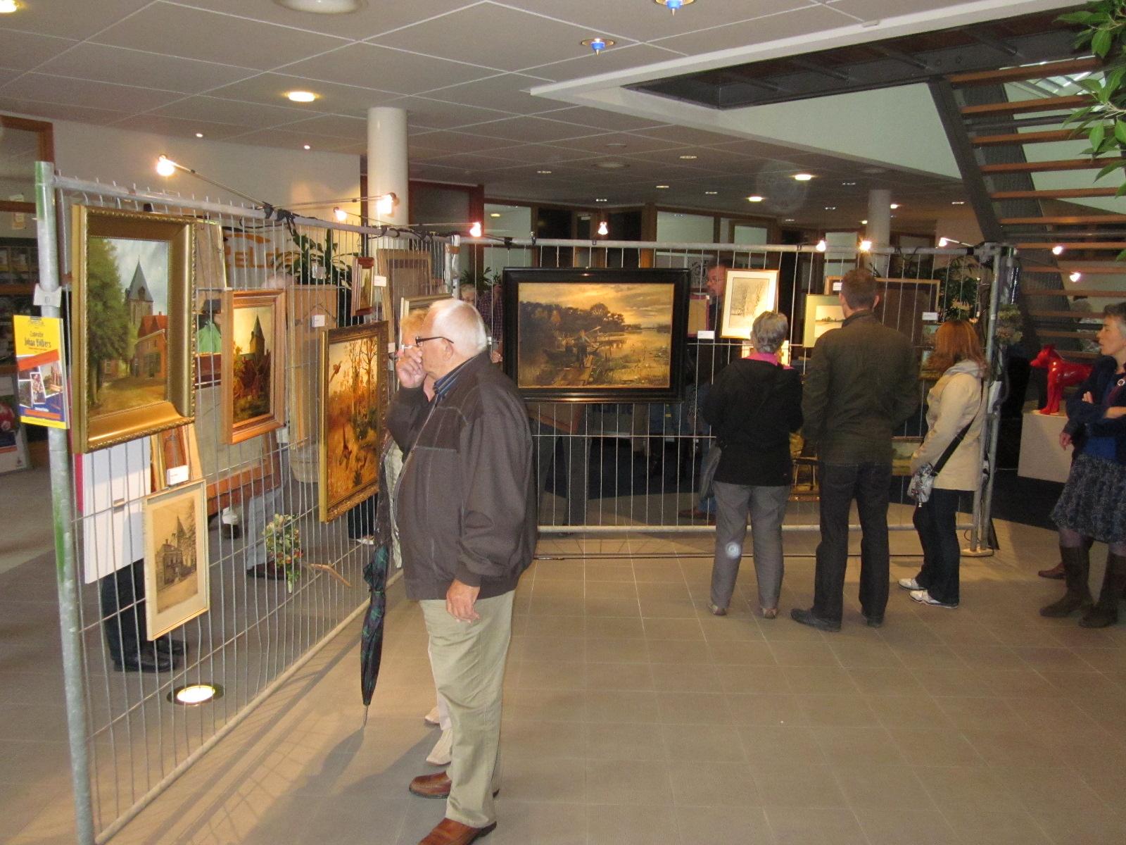 Kunstwerken Johan Völkers aan Langestraat