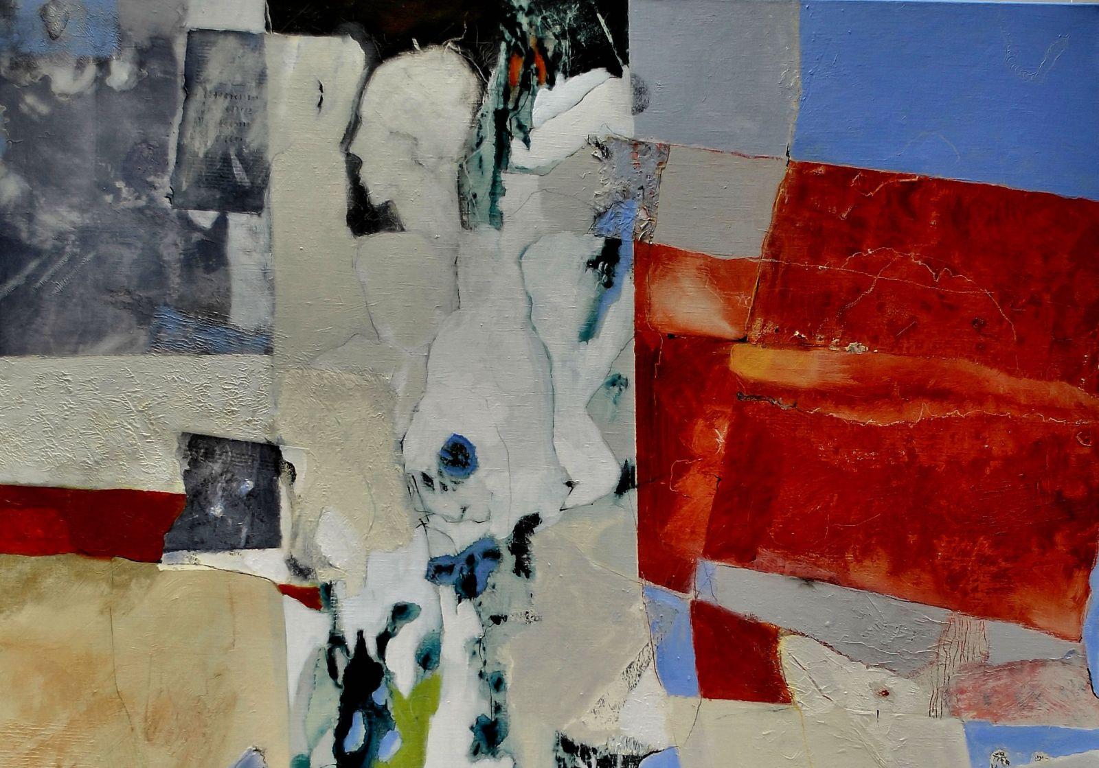 Kunstwerken Trijnie Mohlmann bij Galerie & Kunstuitleen de Pook in Delden
