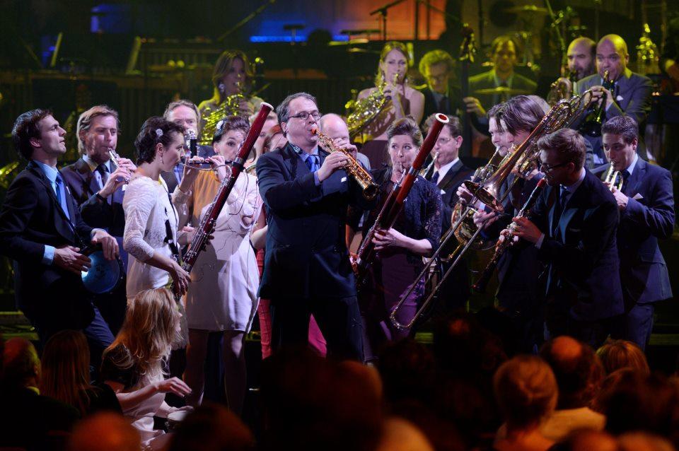 Nederlands Blazers Ensemble brengt bezoek aan Delden
