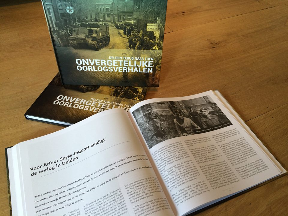 'Ook derde druk voor boek met oorlogsverhalen Delden Terug Naar Toen'