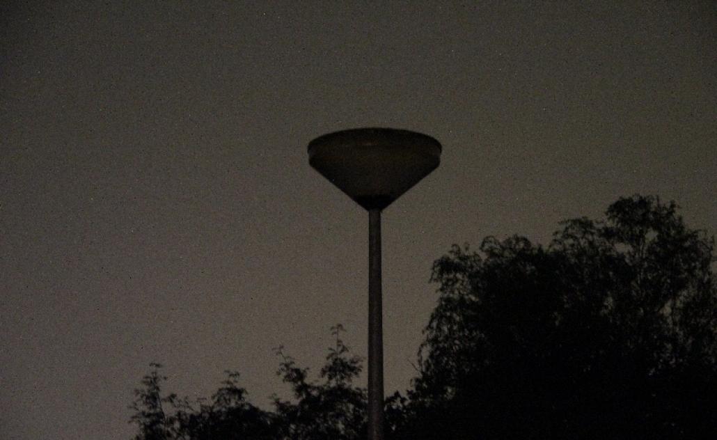 Storing in de openbare verlichting in Delden