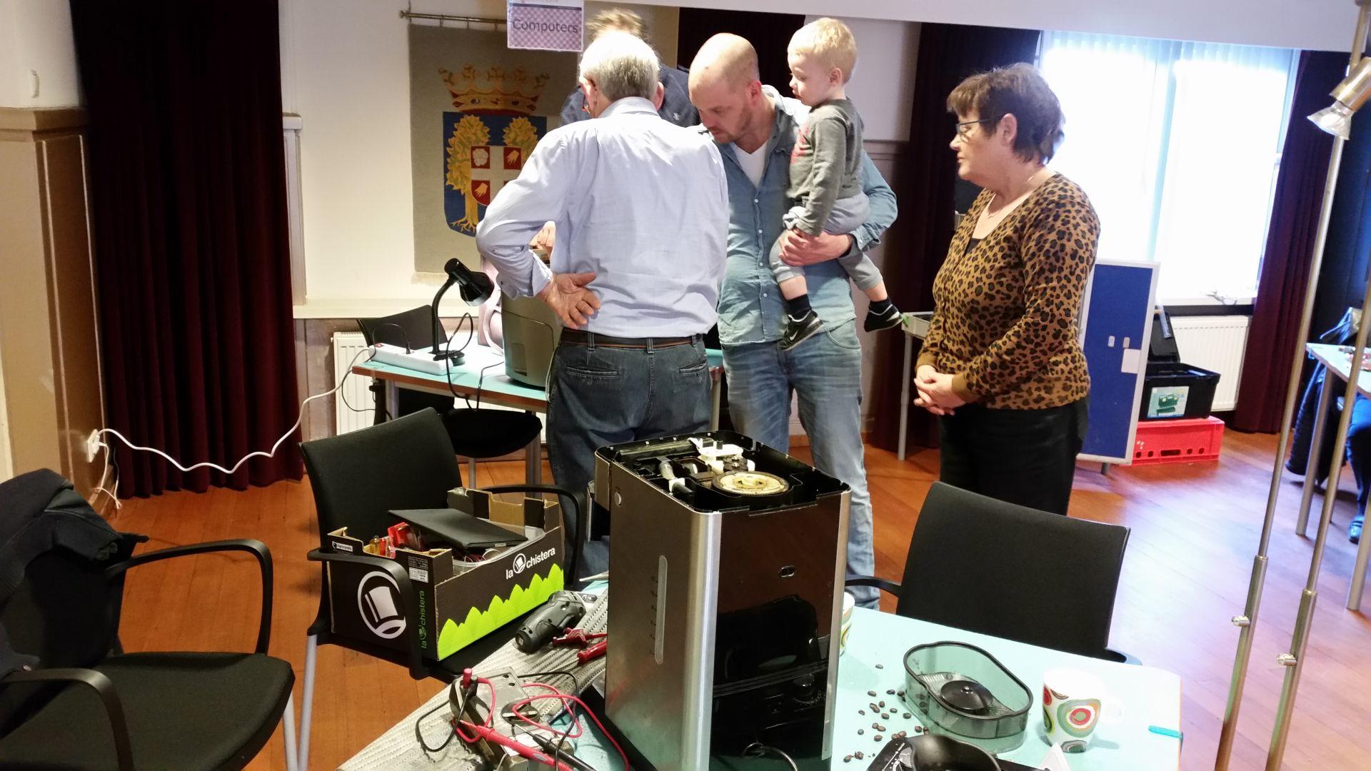 Repair Café Delden zaterdag 13 april