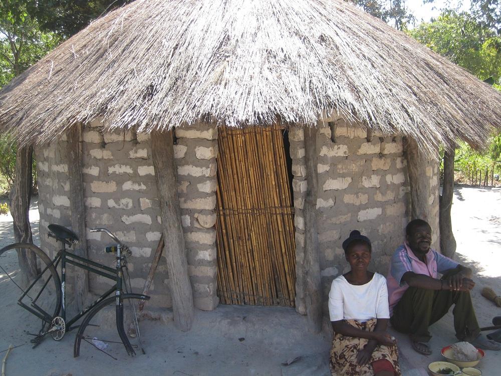 Sikhoura en Abraham gelukkig met dank aan VVF-project