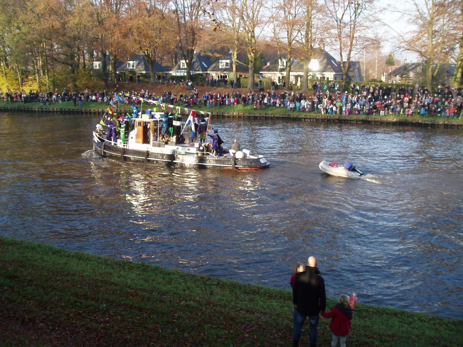 Sinterklaas gearriveerd in Delden