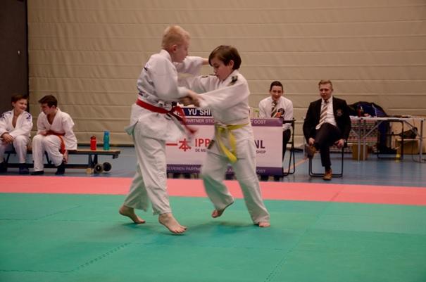 Sporthal De Reiger toneel van jaarlijks vanentoernooi Judosport Oost