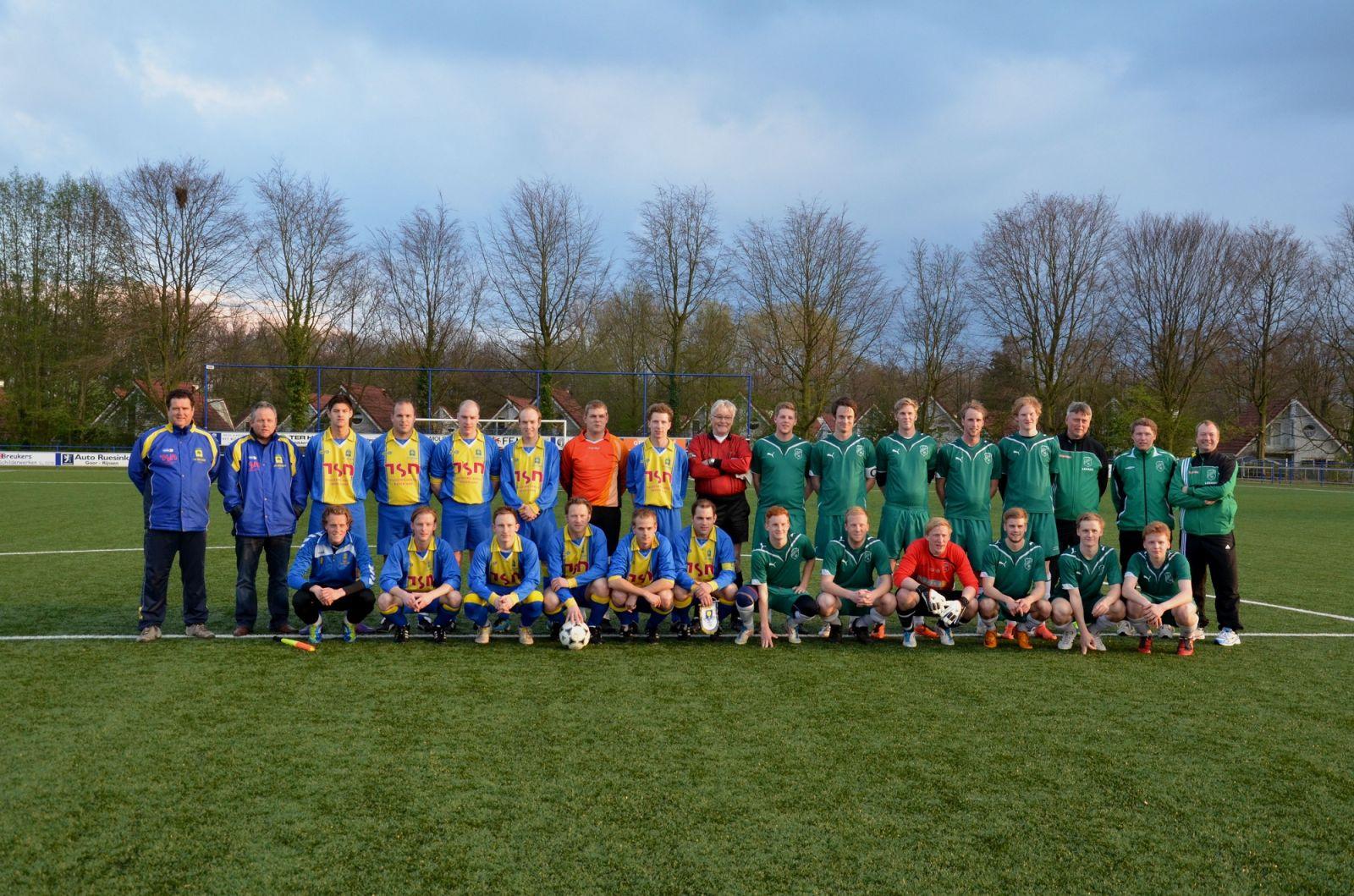 SV Delden te sterk voor Zweeds amateurteam