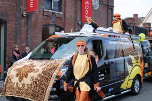 Carnavalsoptocht en feest in sporthal Delden 2019