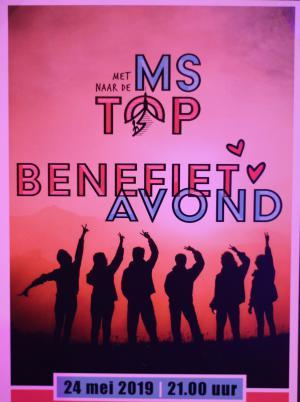 Benefietavond 'Met MS naar de top'
