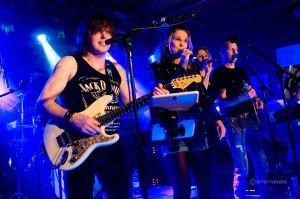 34 muzikanten en 300 bezoekers maken 4e Rocknacht tot succes