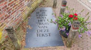 Grafsteen centrum Delden