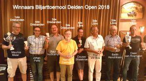 Winnaars vierde editie Delden Open Biljarttoernooi bekend