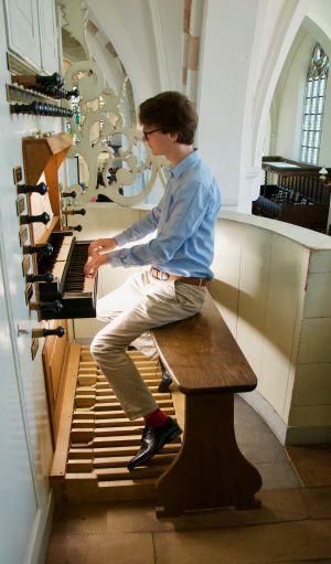 Ingezonden: Orgelrecital in De Oude Blasius met Martijn Thomas