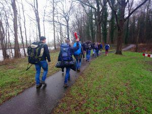 Deldense Scouts leggen jaarlijkse winterhike wederom met succes af