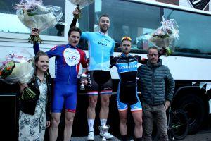 Edwin Geerdink wint in Rijssen en is leider VIRO Criterium Cup Twente