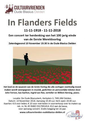 In Flanders Fields - herdenkingsconcert einde WO1 in Oude Blasius Delden