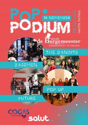 Bandavond bij 'Poppodium' in Delden