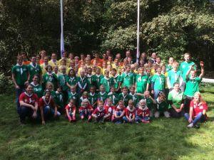 Deldense scouts 'vliegen over' tijdens traditioneel groepsweekend